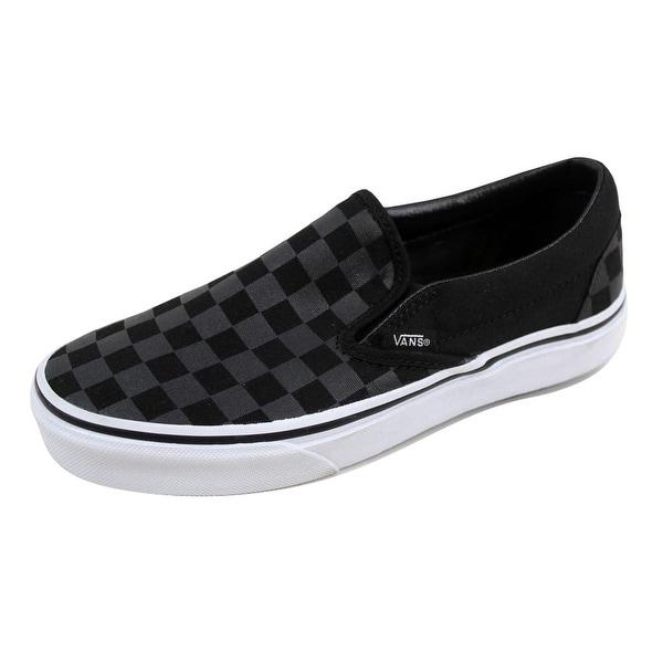 30ffdd44c924c2 ... Men s Athletic Shoes. Vans Men  x27 s Classic Slip On Checkerboard Black  Black VN-0EYE276