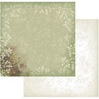 """Green Lace - Hearts Ease Double-Sided Paper 12""""X12"""" (5/Pack)"""