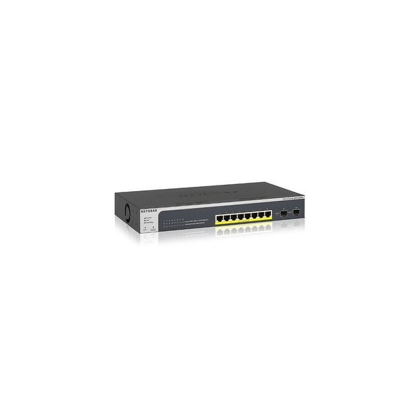 Netgear GS510TPP-100NAS NETGEAR 8-Port Gigabit Smart Managed Pro Switch, 2  SFP Ports, PoEPlus, 190W, ProSAFE Lifetime Protection