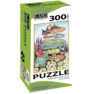 "Jigsaw Puzzle 300 Pieces 14.5""X20.5""-Garden Sign"