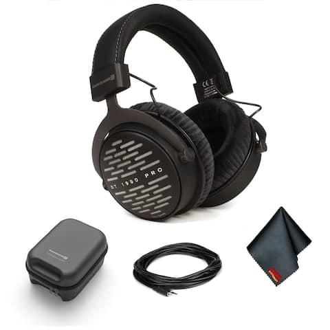 Beyerdynamic DT 1990 Pro Open-Back 250 ohm Headphones Bundle