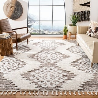 Link to Safavieh Moroccan Tassel Shag Iulieana Rug Similar Items in Shabby Chic Rugs