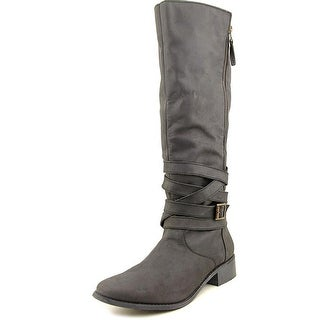 Kenneth Cole Reaction Zap-Iness Women  Round Toe Leather  Knee High Boot