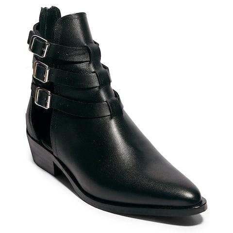 Allsaints Naomi Cutout Leather Bootie