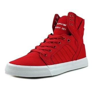Supra Skytop Men Round Toe Canvas Skate Shoe