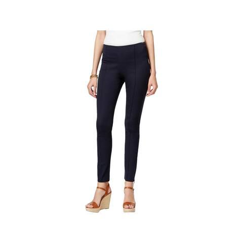 5bbcaefa31858 MICHAEL Michael Kors Womens Petites Trouser Pants Stretch Hidden Side Zipper