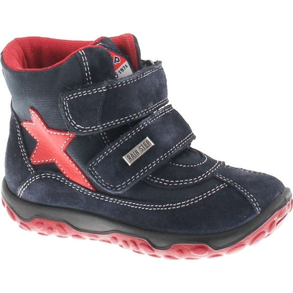 Naturino Boys Yukon Waterproof Fashion Winter Boots - bleu-rosso