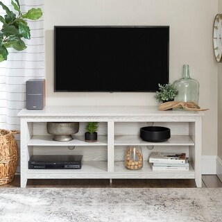 Link to Porch & Den Dexter 58-inch White Wash TV Stand Console Similar Items in TV Consoles