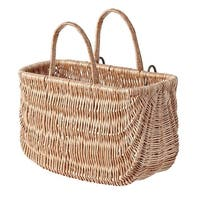 Basil Swing Wicker Basket 15046 Natural - 15046