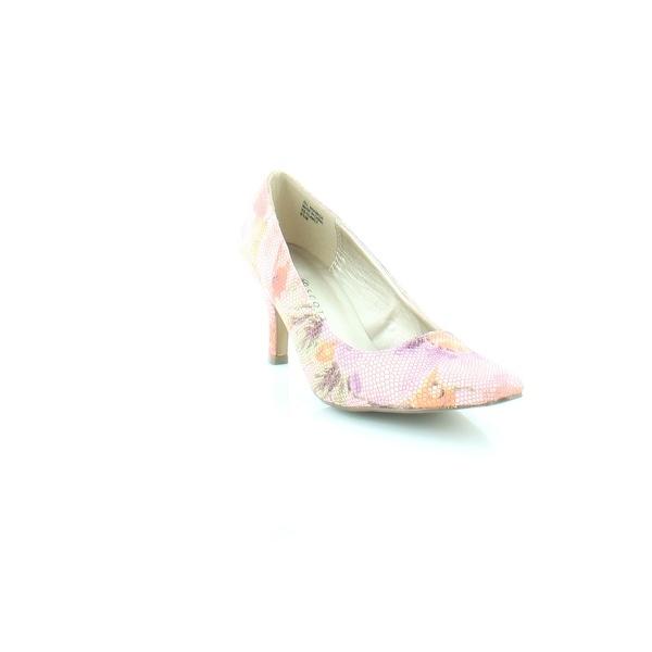 Karen Scott Clancy Women's Heels Pink Floral - 6.5