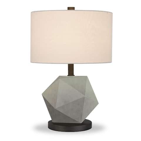 Kylo Geo Concrete Table Lamp