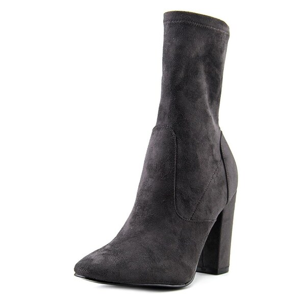 Ivanka Trump Lynna Pointed Toe Canvas Ankle Boot
