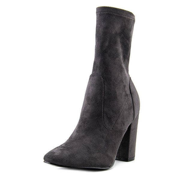 Ivanka Trump Lynna Women Pointed Toe Synthetic Gray Ankle Boot