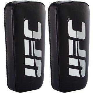 UFC Professional Standard Black Genuine Leather Thai Pads