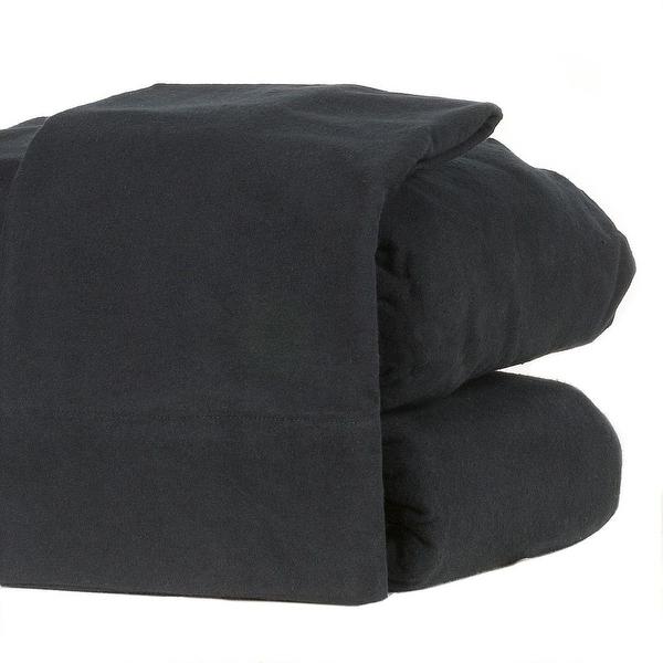 Shop Flannel Sheet Set Heavyweight 190gsm Ultra Soft 4 Pcs
