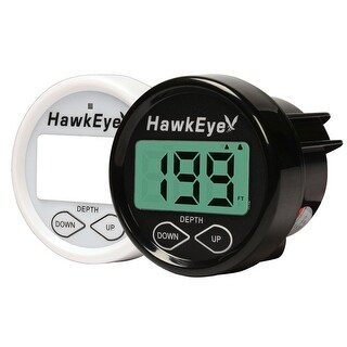 Hawkeye In Dash Digital Depth Gauge W/ Tm/In-Hull Ducer - D10D