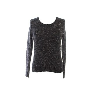 Eileen Fisher Petite Bronze Marled Crewneck Sweater PS