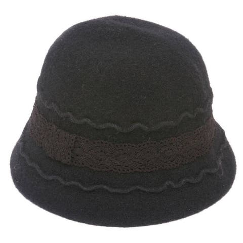Womens Winter Wool Bucket Hat