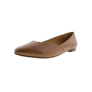 Jack Rogers Womens Caroline Ballet Flats Leather Scalloped (4 options available)