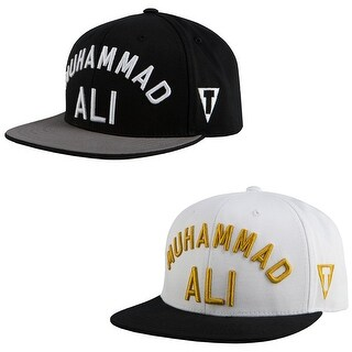 Title Boxing Muhammad Ali Flat Brim Adjustable Snapback Cap - One size