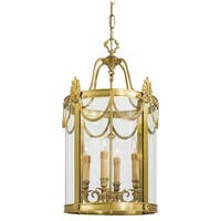 Metropolitan N850804 4-Light Lantern Pendant from the Metropolitan Collection - dore gold