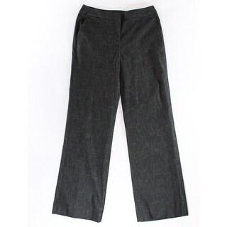 Nine West NEW Gray Women's Size 4X28 Straight Leg Stretch Dress Pants