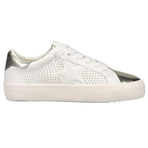Vintage Havana Ivy Perforated Womens Sneakers Shoes Casual - White