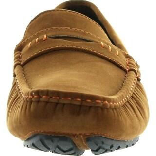 J's Awake Mens Peter-34 Loafer Slip On Comfort Driving Moccasin Shoes