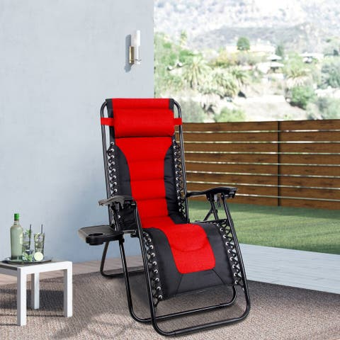 Kaimana Padded Zero Gravity Reclining Foldable Lounge Chair by Havenside Home - N/A