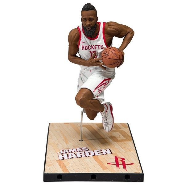 7e4573ce8999 Shop Mcfarlane NBA Series 31 Houston Rockets Action Figure  James Harden -  multi - Free Shipping On Orders Over  45 - Overstock - 19474828