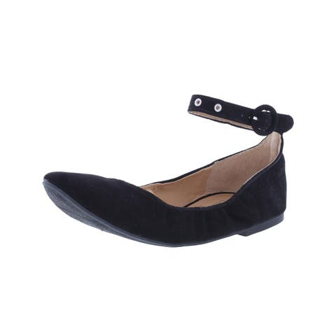 Material Girl Womens Francy Ballet Flats Solid Round Toe