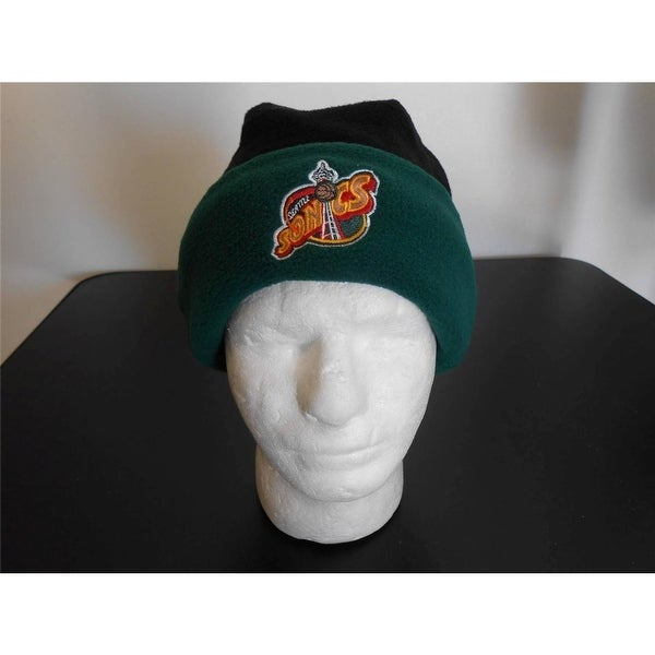 90d5eff89e1 Shop Seattle Supersonics Adult Mens One Size Fits All Beanie Cap Hat ...