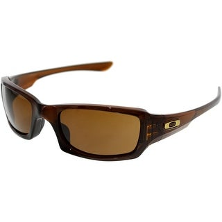 Oakley Men's Fives Squared OO9238-07 Brown Rectangle Sunglasses