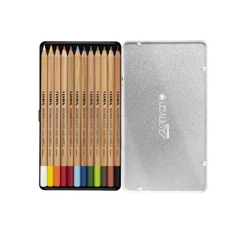 Lyra - Rembrandt Aquarell Colored Pencil Set - 12-Color Set