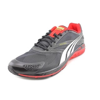 Puma Bioweb Speed Men  Round Toe Synthetic Black Running Shoe