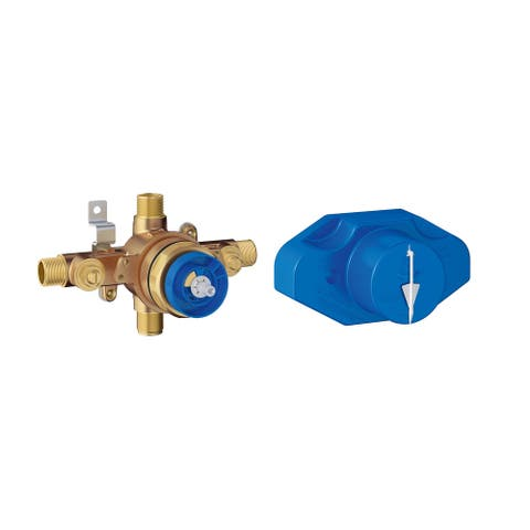 Grohe 35 015 Universal Pressure Balance Rough-In Valve with Universal Inlets
