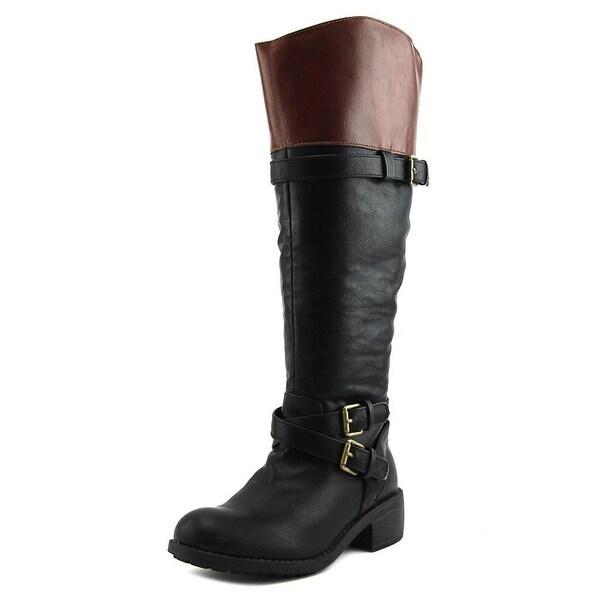 Rampage Britney Women Black/Cognac Boots
