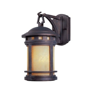 "Designers Fountain 2370-AM-MP Single Light 5 1/2"" Wide Cast Aluminum Wall Lantern from the Sedona Collection"
