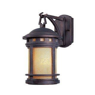 """Designers Fountain 2370-AM-MP Single Light 5 1/2"""" Wide Cast Aluminum Wall Lantern from the Sedona Collection"""
