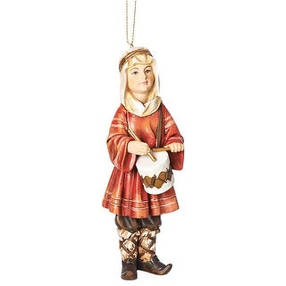 Little Drummer Boy Ornament - Hanging Tree Holiday Christmas Decoration