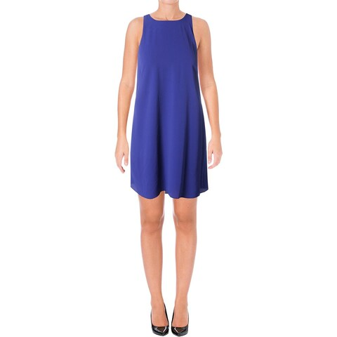 Lauren Ralph Lauren Womens Casual Dress Keyhole High-Low