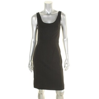 Diane Von Furstenberg Womens Geovana Cocktail Dress Fitted Sleeveless