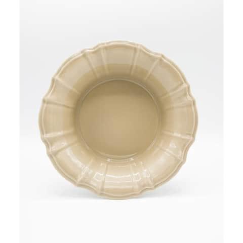 Euro Ceramica Chloe 34 oz Pasta Serve Bowl