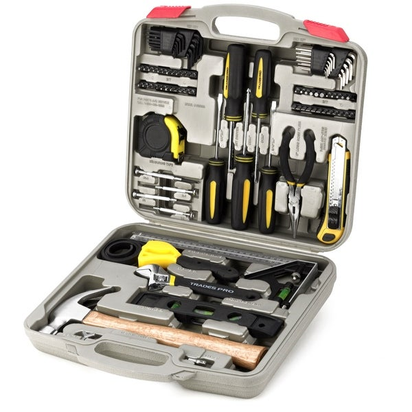Trades Pro 100 Pc Home Repair Tool Set Hammer Pliers Driverore 835099 Free Shipping Today 15889833