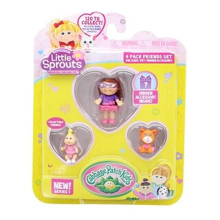 Little Sprouts 4-Pack Friends Set w/ Colleen Eryn, Maura Riley & Bella - multi