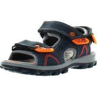 Primigi Boys Babet-1 Double Closure Sport Sandals - Navy