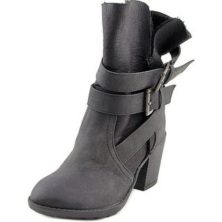 Report Yurick Women Round Toe Synthetic Mid Calf Boot