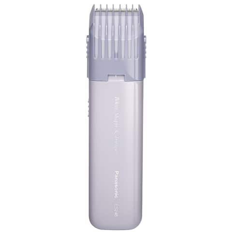 Panasonic Bikini Shaper and Trimmer for Women Quick and Easy Grooming - White - 5.5 x 1.4 x 0.8