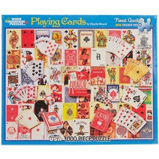 """Jigsaw Puzzle 1000 Pieces 24""""X30""""-Playing Cards"""