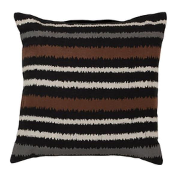 "20"" Verano Stripes Decorative Square Throw Pillow"